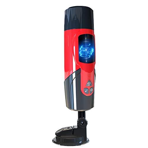 Masajeador eléctrico con función de rotación y Thrusting, 7 modos, 3 funciones de conducción de voz