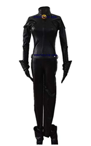 Anime Miraculous Ladybug Black Cat Noir Cosplay Costume Bodysuit Halloween Costume Full Set (Male XL)