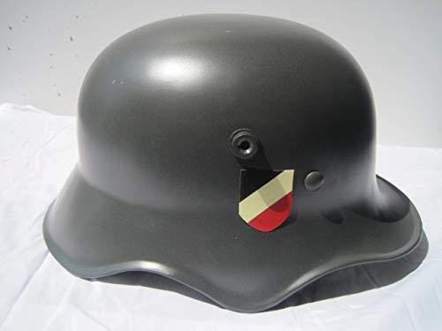 Unbekannt Stahlhelm mit Abzeichen 1. Weltkrieg Landser Deutsches Reich Repro !! M16