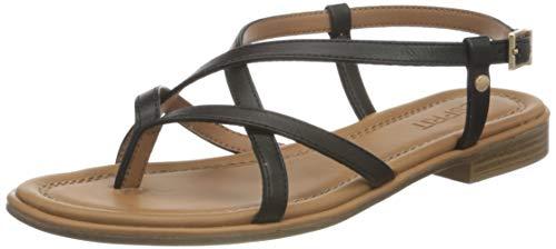 Esprit Damen 031EK1W323 Sandale, 001/BLACK, 41 EU