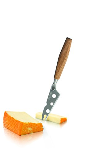 BOSKA 320208 Petite Couteau à Fromage Cheesy, Acier Inoxydable, Argent/Brun, 16 x 2 x 1 cm