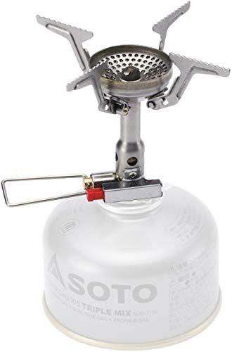ソト(SOTO) アミカス コンパクトストーブ SOD-320 キャンプストーブ OD缶用 シングルバーナー キャンプ ガ...