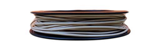 Fillamentum Flexfill 98A - Mini bobina di filamento, 1,75 mm, tolleranza del diametro +/- 0,1 mm, 50 g, colore: Beige polvere