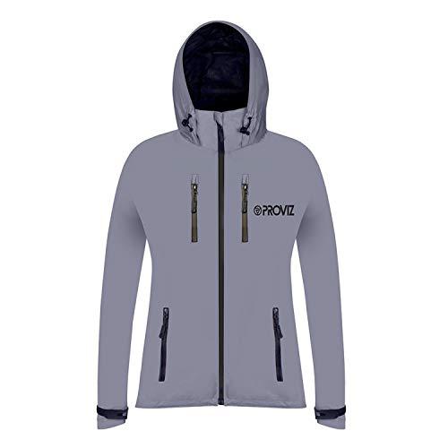 Proviz Womens Reflect 360 Outdoor Jacket SilverBlack Size 10