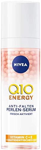 NIVEA Q10 ENERGY Anti-Falten Perlen-Serum (30 ml), Gesichtsserum mit 100% hautidentischem Q10,...