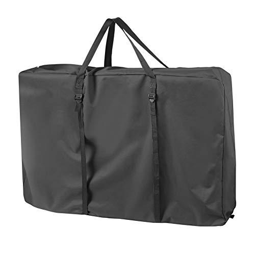 Explore Land Heavy Duty Chair Storage Bag for Folding Longue Chair, Zero Gravity Chair, Light Weight Transport Chair, Folding Rollator Walker (Black)