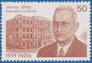 Sams Shopping Ram Nath Chopra Personality Pharmacologist Science Medicine Pharmacy School of Tropical Medicine Institute Building 50 P