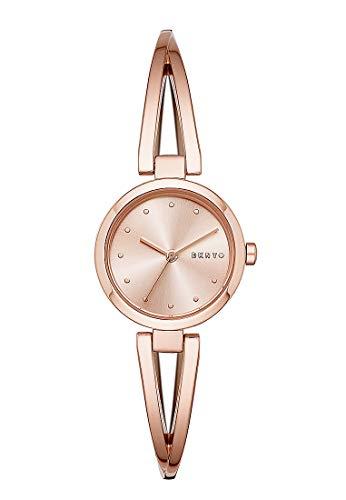 DKNY Damen-Uhren Analog Quarz One Size Edelstahl 87675521