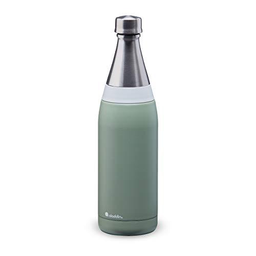 Aladdin Stainless Steel Water Bottle, Sage Green, 0.6L