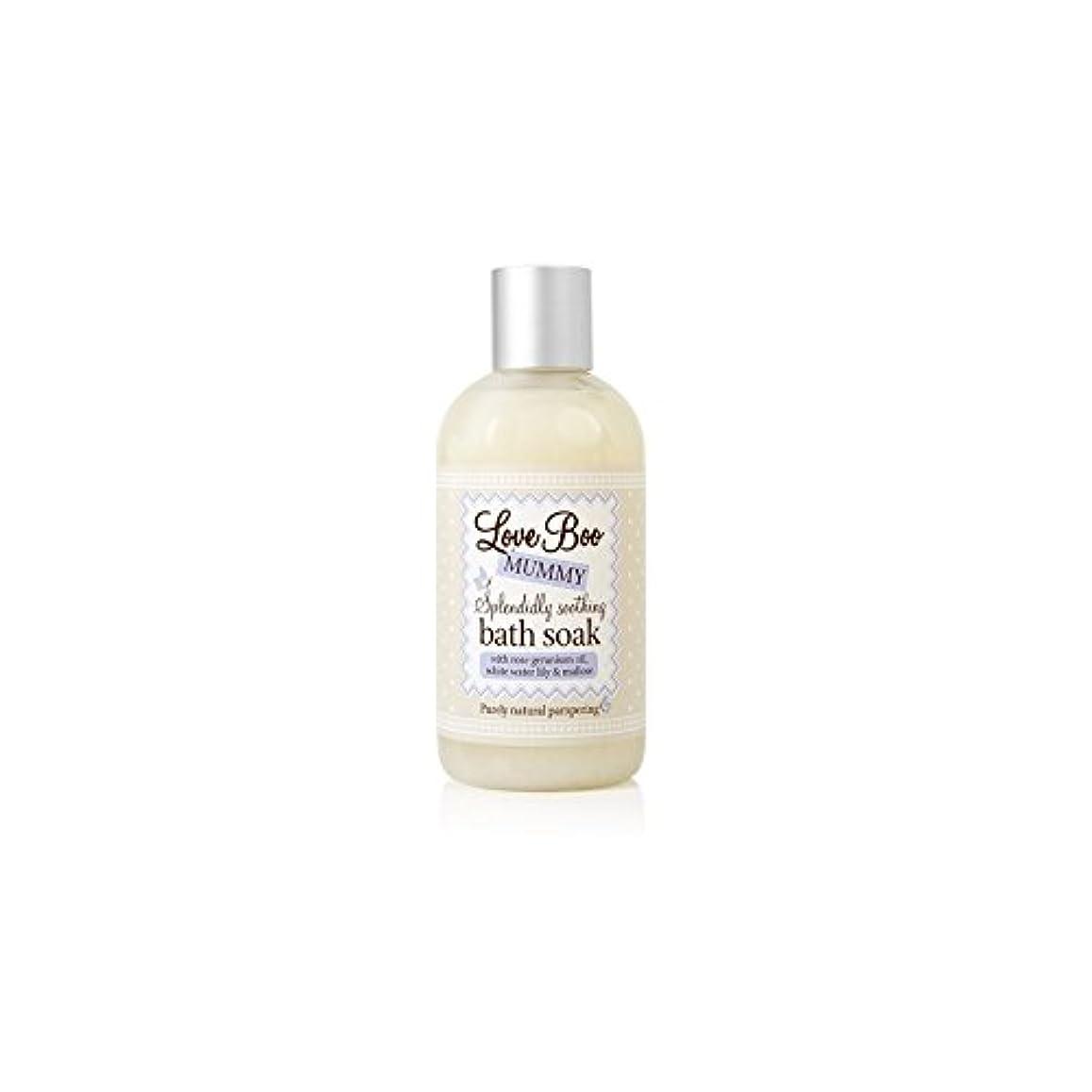 兵器庫成分連鎖Love Boo Splendidly Soothing Bath Soak (250ml) - ブーイング見事なだめるようなお風呂が大好き(250ミリリットル)を浸します [並行輸入品]