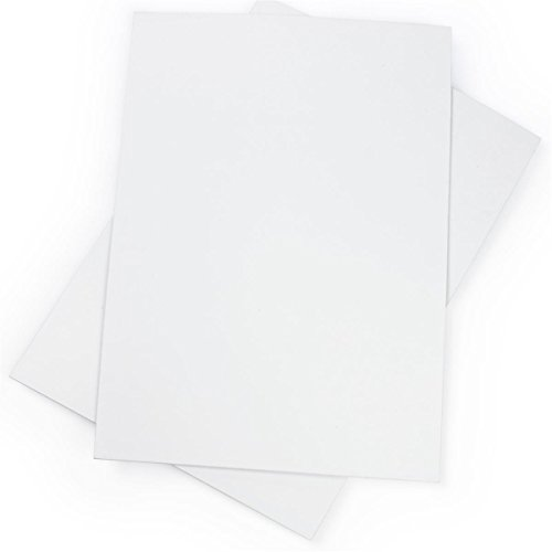 Displays2go Coroplast Sign Boards, 24 x 36 Inch, Corrugated Plastic Poster, Set of 2 (CRP2436WHT)