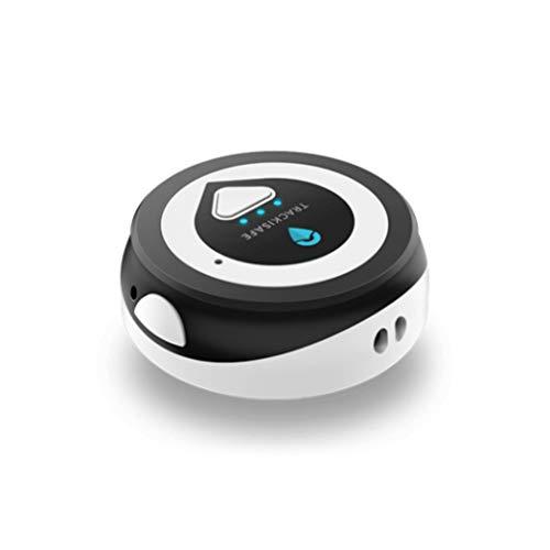 Vodafone V-Multi Tracker, localizzatore GPS multiuso con Bluetooth e SIM integrata per Borsa, Cane, Computer Portatile, Chiavi, bianco nero