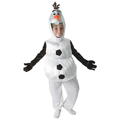 Disney- Folat Déguisement Olaf Frozen pour Enfant, I-610367M, Blanc, M