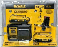 DEWALT DCA2203C 20-Volt MAX Battery Adapter Kit for 18-Volt Tools