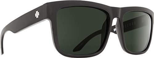 Spy Optic Discord Sunglasses, Black/Happy Gray/Green, 57 mm
