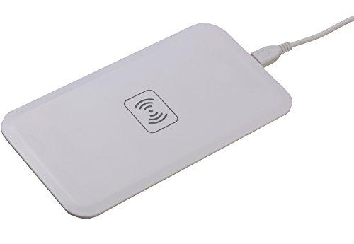 """PETER JÃ""""CKEL Qi ELEGANCE Wireless Charger induktives kabelloses Ladegerät weiss"""