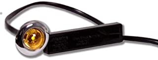 """Maxxima M09370Y Amber 1"""" Round LED Auxiliary Micro-Strobe Light"""