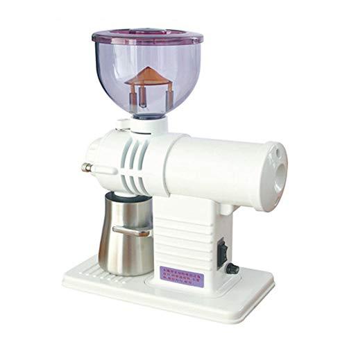 Kaffeemaschine, Kaffeemühle Geist Zähne Elektrische Kaffeebohne Schleifmaschine Haushaltskaffeebohne Grinder Miller Fräsmaschine,Weiß