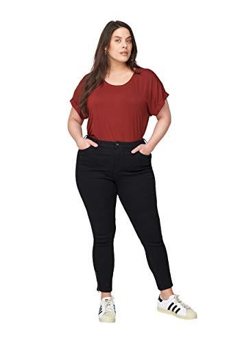 Zizzi Große Größen Damen Extra hochtaillierte Amy Jeans Gr 42-56