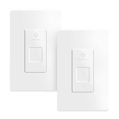 Etekcity 3 Way Smart Switch Works with Alexa, Google Home and IFTTT 15A/1800W, Neutral Wire Required, ETL and FCC listed (2 PACK)