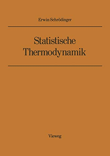 Statistische Thermodynamik