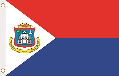 U24 vlag vlag Sint Maart 90 x 150 cm