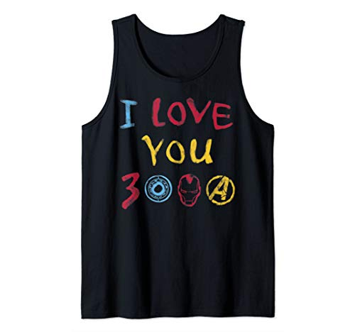Marvel & St. Jude's I Love You 3000 Crayon Tank Top