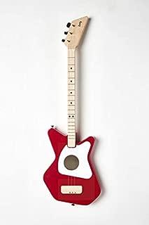 Loog Pro Acoustic Guitar, Children, Teens, Beginners, (Red)