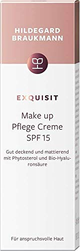 Hildegard Braukmann Exquisit Make-up Pflege Creme SPF 15 Getönte Gesichtscreme, 50 ml