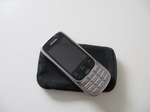 Nokia 6303 classic steel (Fotocamera 3,2 MP, MP3, Bluetooth) Cellulare