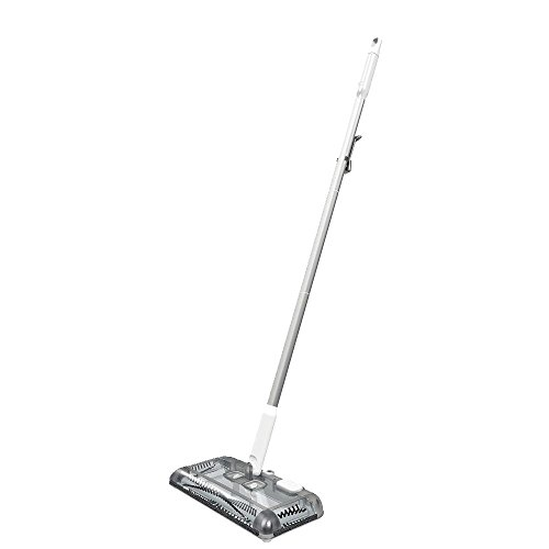 BLACK+DECKER Floor Sweeper, 50-min runtime, Powder White (HFS115J10)