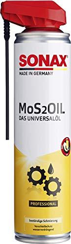 SONAX No de artículo 03394000 MoS2Oil Aceite universal con EasySpray (400 ml)
