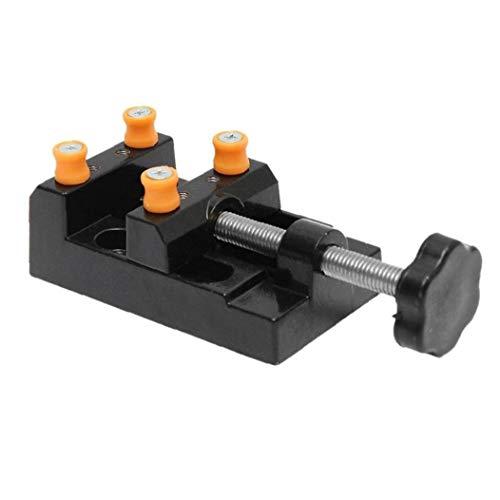 NaiCasy Universal-Kleinbohrmaschine Schraubstock, Werkbank Schraubstock, Handwerk Hobby Werkzeug