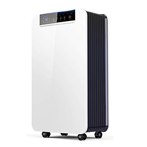 SSCYHT 2000ML Luftentfeuchter mit automatischer Abschaltung und kontinuierlicher Entwässerung, stille Feuchtigkeitsentfernung für das Schlafzimmer im Keller