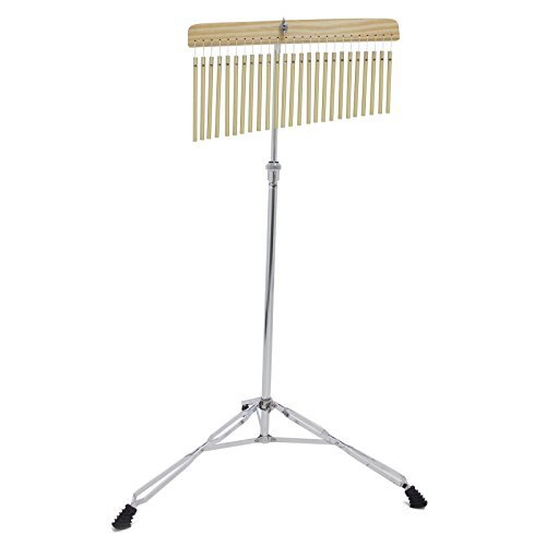 Kalos by Cecilio 25 Bar Chimes with Stand and Striker, KP_CHM-25