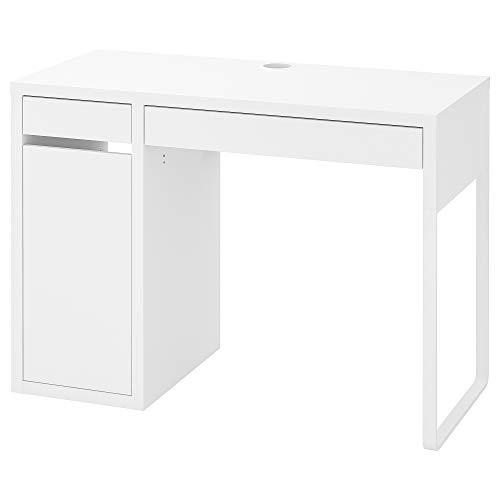 Ikea MICKE Schreibtisch in weiß; (105x50cm)