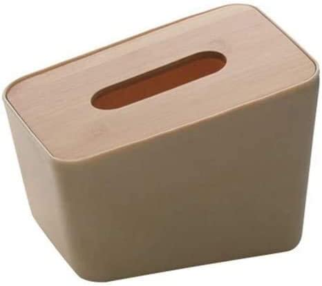Sale SALE% OFF lyqqqq Household Tissue Holder Vertical Wood shop Bamboo Box T