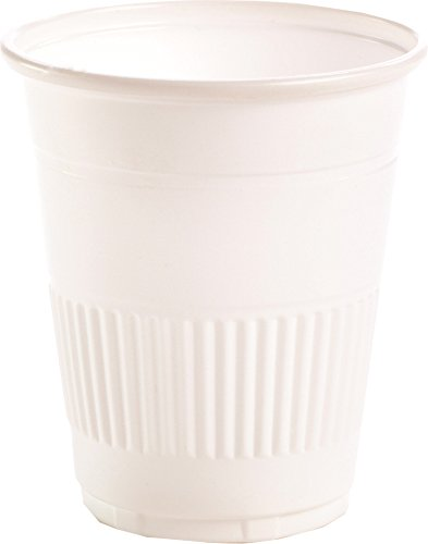 Primo Dental Products PCWH Plastic Cups, 5 oz, White (Pack of 1000)