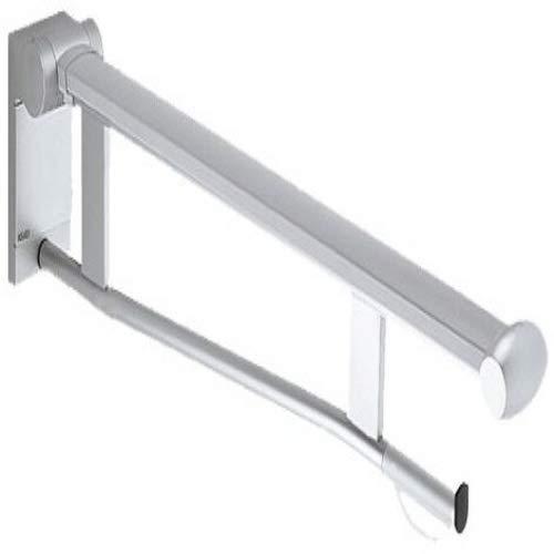 Keuco 34903170838 Plan Care Stützklappgriff WC Aluminium, silber-eloxiert / lichtgrau