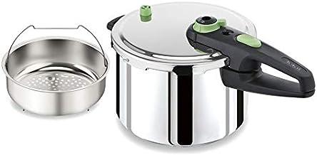 TEFAL Sensor® 8L Pressure Cooker Pot, Stainless Steel Induction - P2051444