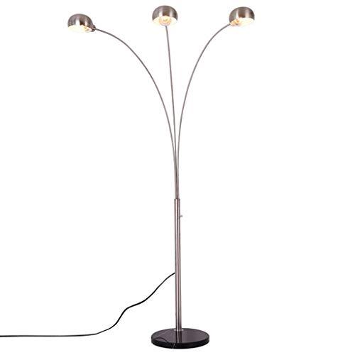 LYM & daglicht staande lamp, metalen vloerlamp, drie vislampen, eettafel, woonkamer, slaapkamer, werkkamer, kantoor, vrije tijd, mahong-vloerlamp staande lamp