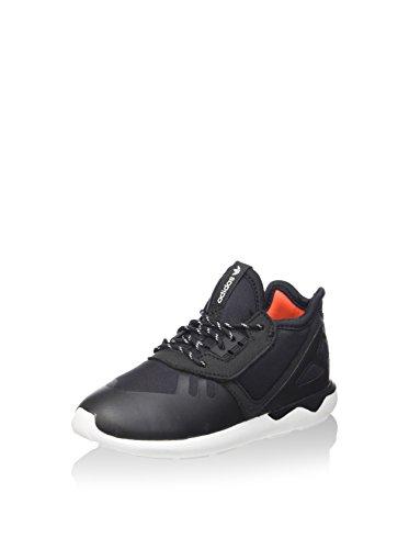 adidas Unisex-Kinder Tubular Runner I Sneaker, schwarz/weiß, 21 EU