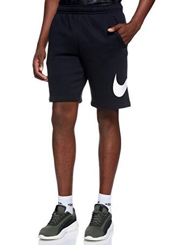 Nike Sportswear Club, Pantaloncini Uomo, Black/White/White, M