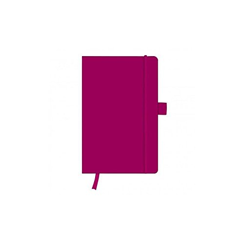 Herlitz 11369071 Notizbuch my.book Classic A5, 96 Blatt, kariert, berry