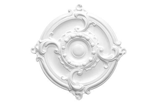 1 Deckenrosette | Innendekor | Stuck | EPS | Dekor | 400x400mm | R-3