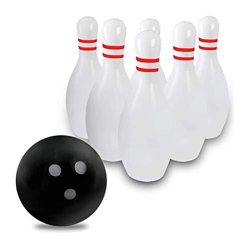 6 Stücke/Eingestellte Aufblasbare Bowlingkugel Für Kinder Bunte Aufgeblähte Kinder Im Freien