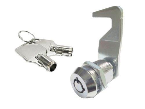 CUTE 4 U Tool Box, 5/8' Tubular Cam Lock 90 Degree,Hook cam; Replacement Lock, KA