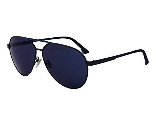 Police SYNTH 2 SPLB-37 R51B - Gafas de sol (efecto espejo), color azul mate