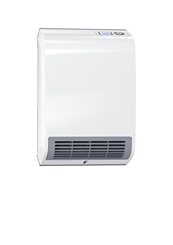 AEG Ventilatorheizung VH 213 mit Keramik-Heizkörper für Badezimmer, Beleuchtetes LC-Display, Flusensieb, 3-stufiges Sicherheitskonzept, Ökodesign 2018, 2000 W, 238296