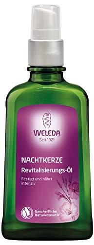 WELEDA Nachtkerze Revitalisierungs-Öl, intensives Naturkosmetik Pflegeöl zur Regeneration und Nährung von trockener Haut, Körperöl reaktiviert natürliche...